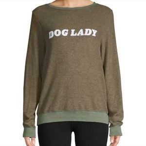 NWT Wildfox DOG LADY Sweater